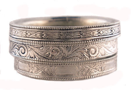 Antique Victorian Style Wedding Bands
