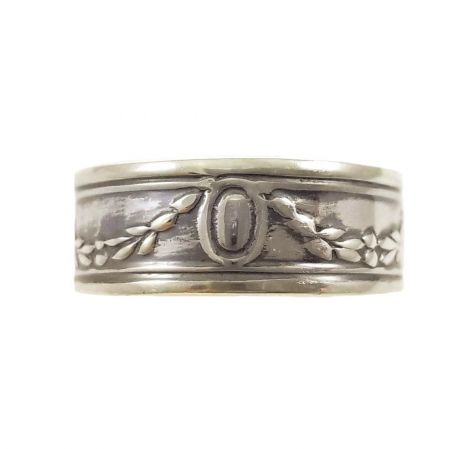 Victorian Style 6.7mm Garland Swag Pattern Band | Stacking Band | Sterling Silver