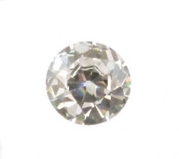 Old European Cut Cubic Zirconia - White Tone CZ