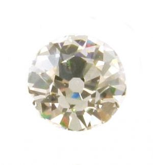 Old European Cut Cubic Zirconia - Warm Tone CZ